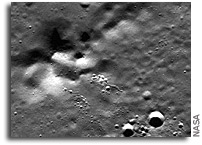 MESSENGER Image: Unnamed Peaks on Mercury