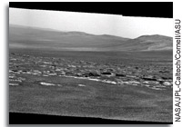 Photo: Opportunity's View of the Rim of Endeavour