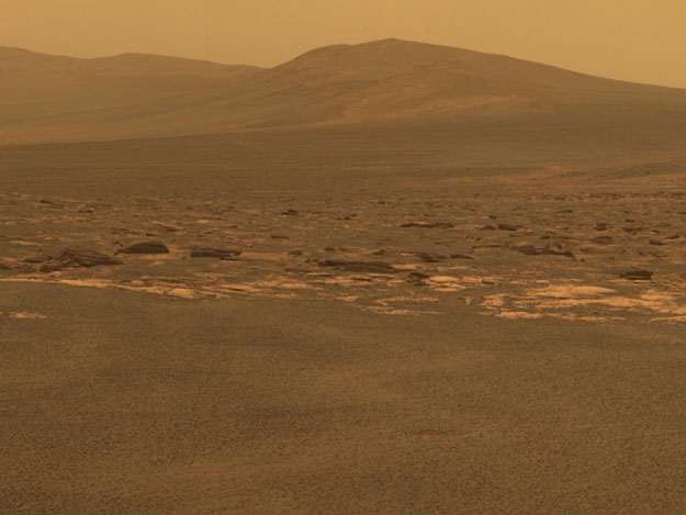 NASA Mars Rover Arrives At New Site On Martian Surface