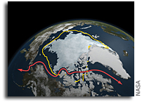 Arctic Sea Ice Continues Decline, Hits Second-Lowest Level