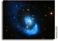 A Galaxy Cluster Gets Sloshed