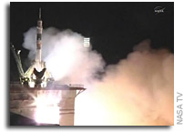 Soyuz TMA-02M Leaves Earth