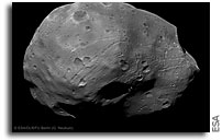 Photo: Express Close Flybys of the Martian Moon Phobos 2011