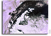 Earth from Space: Antarctic Peninsula