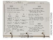 Apollo 13 checklist brings $388,375 at Heritage Auctions in Dallas