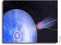 Odd Couple Binary Makes Dual Gamma-Ray Flares