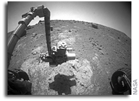 Photos: Opportunity Studies 'Chester Lake' Rock Outcrop on Mars