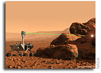 Los Alamos ChemCam Instrument to Shine Light on Mars Habitability