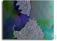 Earth from Space: Strait of ecological significance
