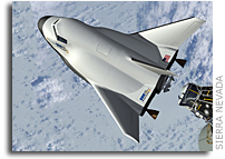 NASA Astronauts Fly Dream Chaser Simulations