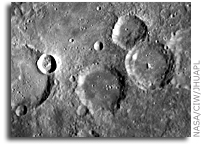 NASA MESSENGER Image of Mercury: Crater Juan de Mena