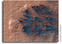 MRO HiRISE Mars Image: Aerosols in the Air