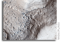 NASA MRO HiRISE Image of Mars:  Lava Coating, Flood-Carved Kasei Valles