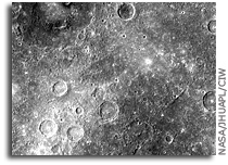 MESSENGER Image of Mercury: Double-ring Basin