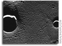 MESSENGER Image of Mercury: Radar-bright Craters in Goethe