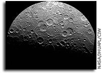 MESSENGER Image of Mercury's South Pole