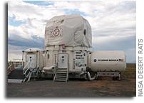 Habitat Development Unit at NASA Desert Rats