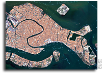 Photo: Venice, Italy As Seen From Space