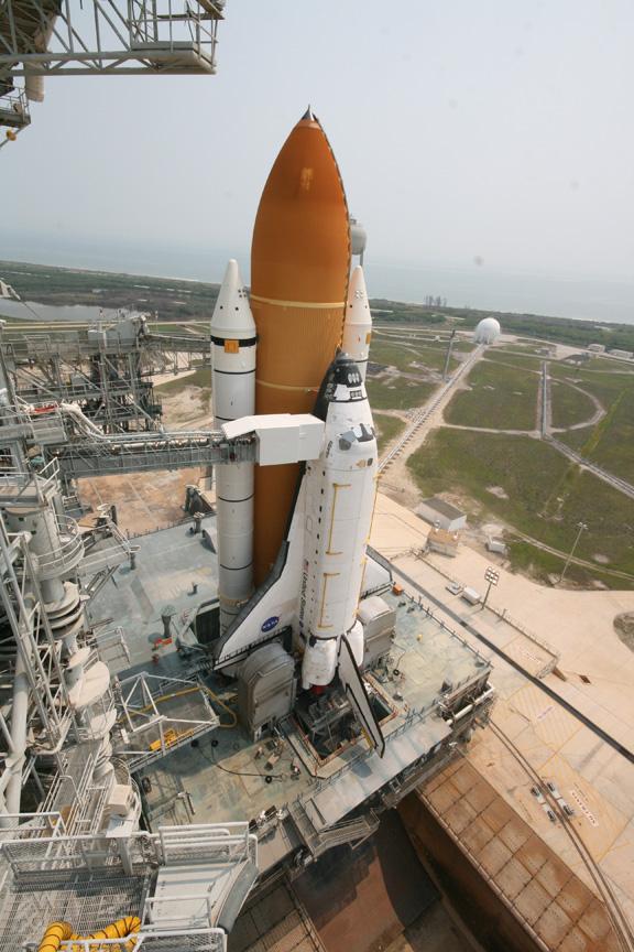 space shuttle launchpad parts diagram - photo #40
