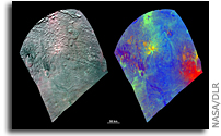 Color composite images of Vesta