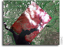 UND space based ag camera captures its first successful image