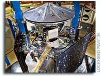 Juno Spacecraft Currently Undergoing Environmental Testing at Lockheed Martin