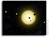NASA's Kepler Spacecraft Discovers Extraordinary New Planetary System