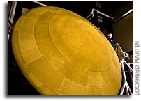 Mars Science Laboratory Aeroshell Delivered to Launch Site