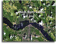 Landsat Satellite Images Reveal Extent of Historic North Dakota Flooding