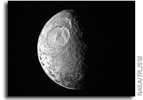 Image: Iapetus as Seen By Cassini