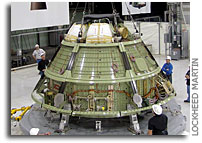 Lockheed Martin Ships Out First Orion Spacecraft