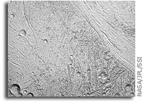 Cassini Image: Scanning Enceladus' Surface