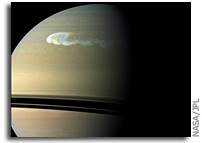 Image: Spotting Saturn's Northern Storm