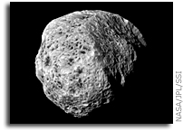 Cassini Image: Spongy Hyperion