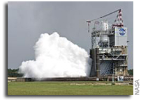Video: NASA Tests Deep Space J-2X Rocket Engine