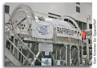 Last Ever Shuttle to Haul Raffaello Logistics Module to the International Space Station