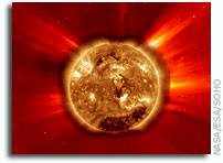 Videos: Large Solar Flare and CME As Seen by the Solar Dynamics Observatory
