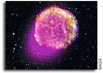Fermi Shows that Tycho's Star Shines in Gamma Rays
