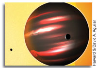 Darkest Known Exoplanet Discovered