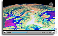 Animation: NASA Research Leads To First Complete Map Of Antarctic Ice Flow