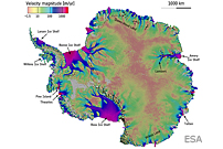 Revealed: Ice Sheet on the Move in Antarctica