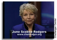 Video: Dr. June Scobee Rodgers talking to Students on 25th Anniversary of Challenger