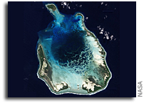 Photo: The Cocos (Keeling) Islands As Seen From Space