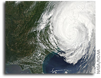 Image: Hurricane Irene Over the Eastern United States this Afternoon