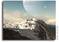 What Do Kepler's Worlds Look Like - From The Surface?