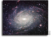 A Postcard from Extragalactic Space? A spiral galaxy that resembles our Milky Way
