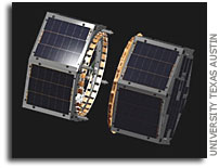 First student-developed mission in which satellites orbit and communicate led by UT students