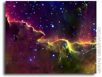 Gemini: Image of a Psychedelic Stellar Nursery