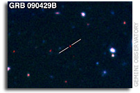 Betting on the Most Distant Gamma Ray Burst Ever Seen