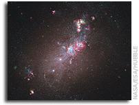 Galaxy NGC 4214 - A Star-Formation Laboratory